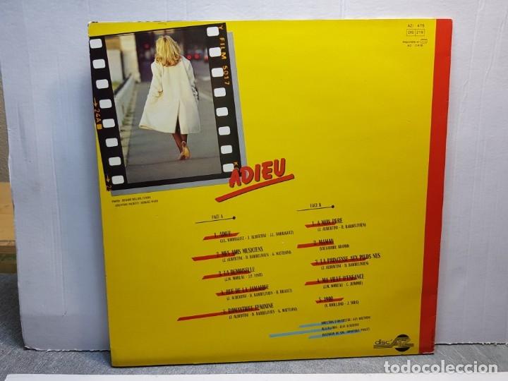 Discos de vinilo: LP-MICHELE TORR-ADIEU en funda original año 1983 - Foto 2 - 183208350