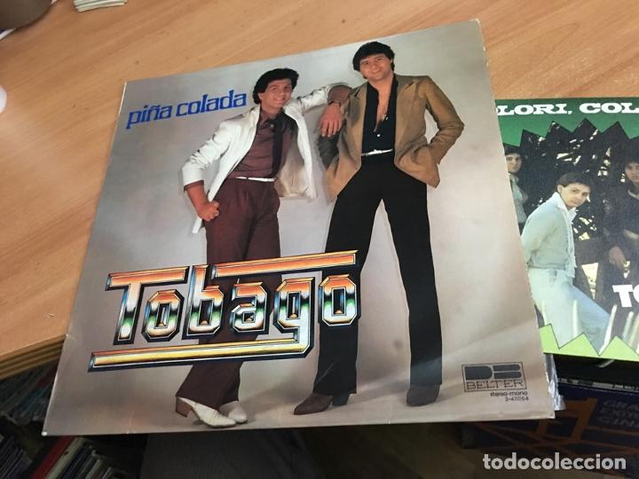TOBAGO (PIÑA COLADA) LP ESPAÑA 1980 + REGALO SINGLE (COLORI COLORA) (B-8) (Música - Discos - LP Vinilo - Grupos Españoles de los 70 y 80)