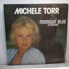 Discos de vinilo: LP-MICHELE TORR-MIDNIGHT BLUE EN IRLANDE EN FUNDA ORIGINAL AÑO 1983. Lote 183208777