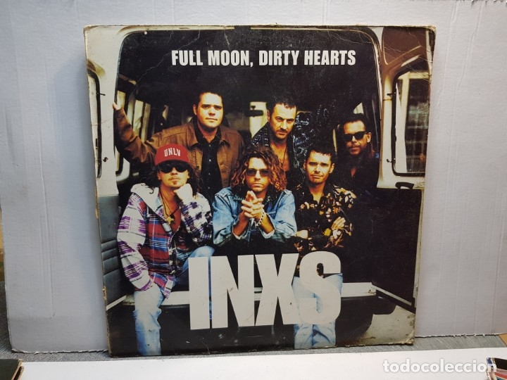 LP-INXS-FULL MOON,DIRTY HEARTS EN FUNDA ORIGINAL AÑO 1993 (Música - Discos - LP Vinilo - Pop - Rock - New Wave Extranjero de los 80)