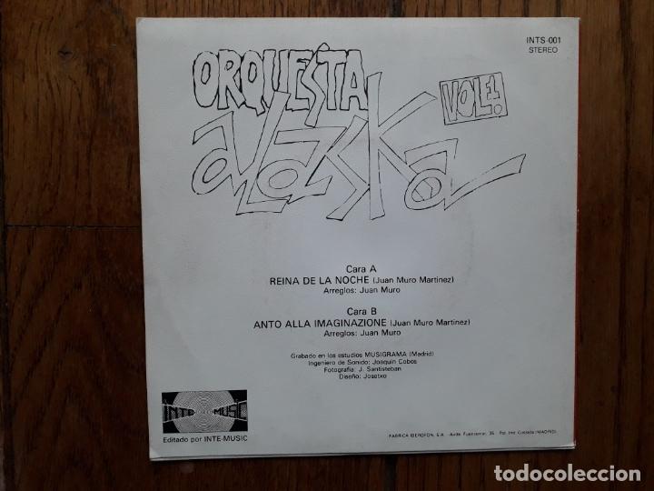 Discos de vinilo: Orquesta alaska - reina de la noche + anto alla imaginazione - Foto 2 - 183209193