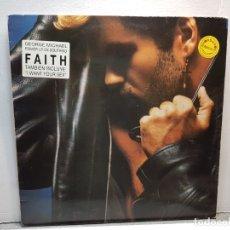 Discos de vinilo: LP-GEORGE MICHAEL-FAITH EN FUNDA ORIGINAL AÑO 1987. Lote 183209267