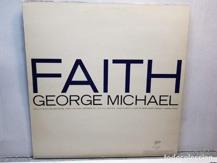 Discos de vinilo: LP-GEORGE MICHAEL-FAITH en funda original año 1987 - Foto 2 - 183209267
