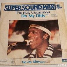 Discos de vinilo: PATRICK GAMMON - DO MY DITTY - 1983. Lote 183209575