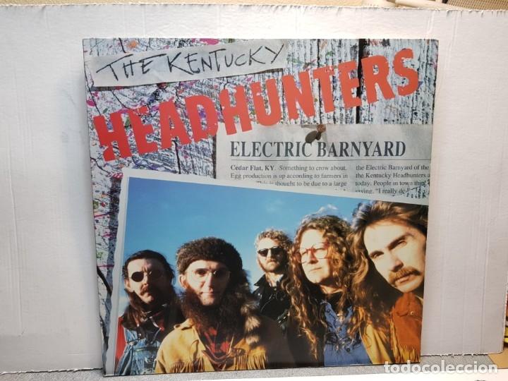 LP-THE KENTUCKY-HEADHUNTERS EN FUNDA ORIGINAL AÑO 1991 (Música - Discos - LP Vinilo - Pop - Rock - New Wave Extranjero de los 80)