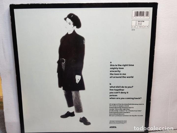 Discos de vinilo: LP-LISA STANSFIELD-AFFECTION en funda original año 1989 - Foto 2 - 183210827