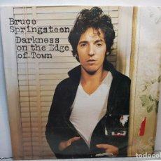 Discos de vinilo: LP-BRUCE SPRINGSTEEN-DARKNESS ON THE EDGE OF TOWN EN FUNDA ORIGINAL AÑO 1978. Lote 183211085