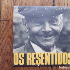 Discos de vinilo: OS RESENTIDOS - GALICIA CANIBAL (FAI UN SOL DE CARALLO) + DANZA DOS MIL RESENTIDOS - PROMOCIONAL. Lote 183211143
