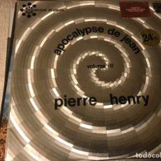 Dischi in vinile: PIERRE HENRY - APOCALYPSE DE JEAN. Lote 199067390