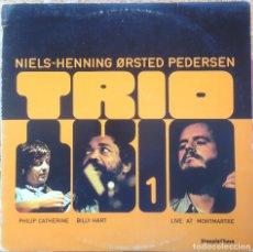 Discos de vinilo: NIELS-HENNING ORSTED PEDERSEN TRIO 1 - LP - 1981 STEEPLE CHASE/EDIGSA - 09L0174 5 EDICIÓN ESPAÑOLA. Lote 183218986