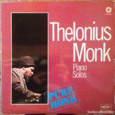 Discos de vinilo: THELONIUS MONK - PIANO SOLOS/SPHERE - 2 LP - 1977/1980 MARFER/AFFINITY - EDICIÓNES ESPAÑOLAS. Lote 183219861