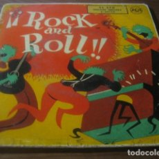 Discos de vinilo: VVAA - ¡¡ROCK AND ROLL!! ********* RARO EP RCA ESPAÑOL 1956 ELVIS PRESLEY . Lote 183228320