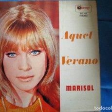 Discos de vinilo: MARISOL AQUEL VERANO ( LP PERU ) MAMY PANCHITA - SOMOS NOVIOS - MI RANCHO - ERES UN ANGEL -. Lote 183252211