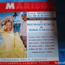 Discos de vinilo: MARISOL ( LP FLORIDA ) LOS NOVIOS DE MARISOL Ò BUSQUEME A ESA CHICA - LOS PEREGRINITOS - . Lote 183252940