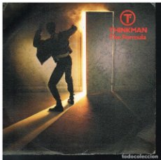 Discos de vinilo: THINKMAN - THE FORMULA / EXCERTP FROM THE BIG LIE - SINGLE 1986 - PROMO. Lote 183255588
