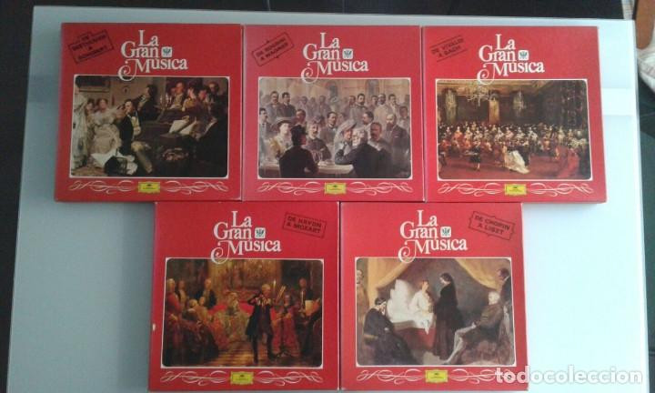 LOTE CINCO ALBUMS MÚSICA CLASICA (Música - Discos de Vinilo - Maxi Singles - Clásica, Ópera, Zarzuela y Marchas)