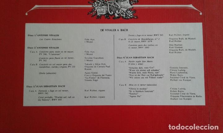 Discos de vinilo: Lote cinco albums Música Clasica - Foto 7 - 183256293