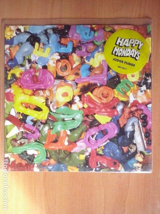 HAPPY MONDAYS 'JUDGE FUDGE' FACTORY 1991 (Música - Discos - Singles Vinilo - Pop - Rock Extranjero de los 90 a la actualidad)