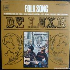 Discos de vinilo: FOLK SONG // BOB DYLAN // SEEGER // BYRDS //MADE IN JAPON //(VG VG). LP. Lote 183261261