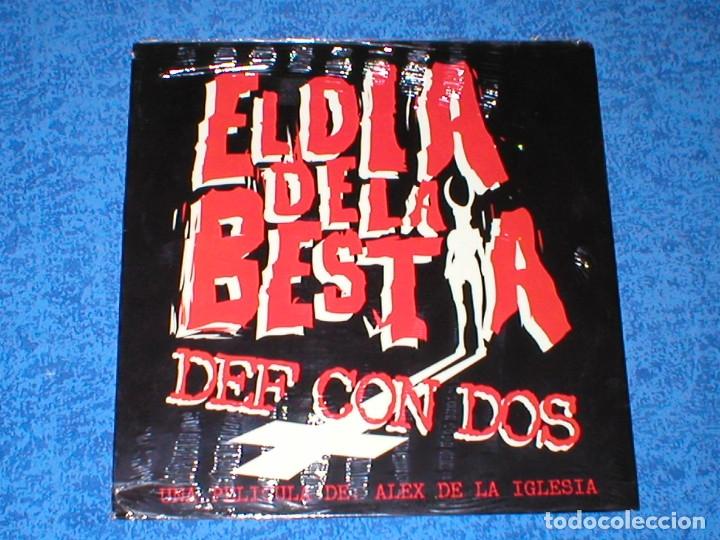 DEF CON DOS 2 MAXI 12 EL DIA DE LA BESTIA BSO 1995 DRO PRECINTADO NUEVO HIP HOP NU METAL ROCK RARO ! (Música - Discos de Vinilo - Maxi Singles - Rap / Hip Hop)