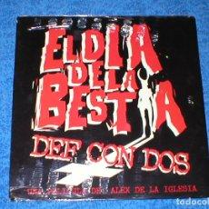 Discos de vinilo: DEF CON DOS 2 MAXI 12 EL DIA DE LA BESTIA BSO 1995 DRO PRECINTADO NUEVO HIP HOP NU METAL ROCK RARO !. Lote 183261758