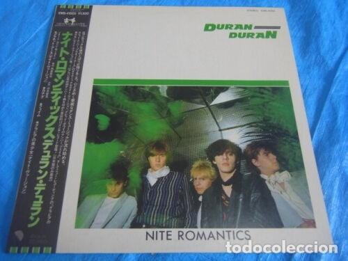 VINILO EDICIÓN JAPONESA DEL MAXI DE DURAN DURAN - NITE ROMANTICS (Música - Discos - LP Vinilo - Pop - Rock - New Wave Internacional de los 80)