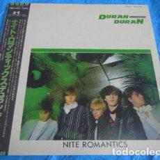 Discos de vinilo: VINILO EDICIÓN JAPONESA DEL MAXI DE DURAN DURAN - NITE ROMANTICS. Lote 183262435