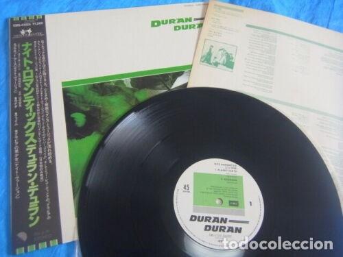 Discos de vinilo: VINILO EDICIÓN JAPONESA DEL MAXI DE DURAN DURAN - NITE ROMANTICS - Foto 2 - 183262435