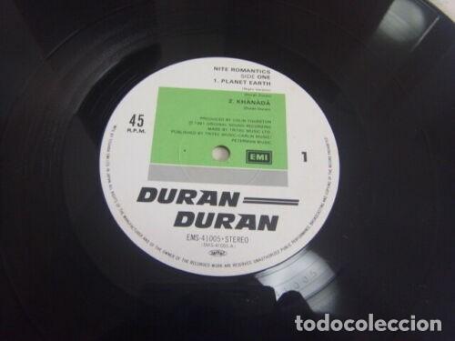Discos de vinilo: VINILO EDICIÓN JAPONESA DEL MAXI DE DURAN DURAN - NITE ROMANTICS - Foto 3 - 183262435