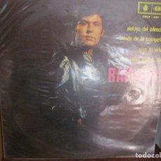 Discos de vinilo: RAPHAEL // VIVE TU VIDA // EL ANGEL // YO // BALADA DE LA TROMPETA // ( VENEZUELA ) VER DESCRIPCION. Lote 183265686