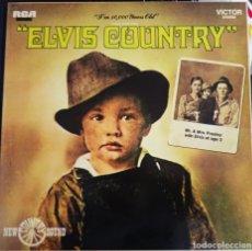 Discos de vinilo: ELVIS PRESLEY - ELVIS COUNTRY - RCA LINEATRES, ESPAÑA 1987. . Lote 183266580