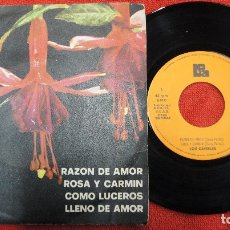 Discos de vinilo: LOS CAIRELES - RAZON DE AMOR+3 - PROMO 1974. Lote 183267340