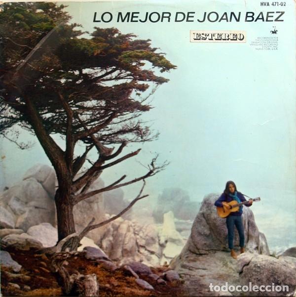 LP JOAN BAEZ – LO MEJOR DE JOAN BAEZ (Música - Discos - LP Vinilo - Cantautores Extranjeros)
