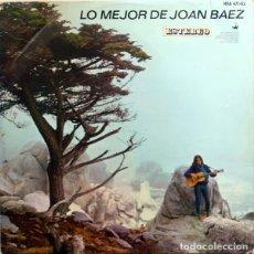 Discos de vinilo: LP JOAN BAEZ – LO MEJOR DE JOAN BAEZ. Lote 183267945