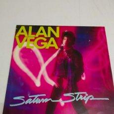 Discos de vinilo: ALAN VEGA – SATURN STRIP---EDICION EUROPEA 1983. Lote 183273888
