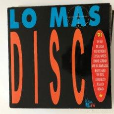 Discos de vinilo: VV.AA. - LO MÁS DISCO '91 - LP DOBLE ARIOLA 1991 . Lote 183275285