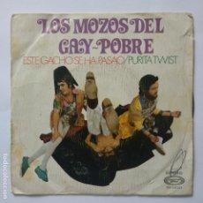 Discos de vinilo: LOS MOZOS DEL GAY POBRE - ESTE GACHO SE HA PASADO. Lote 183275478