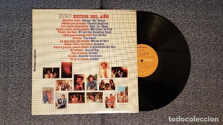ÉXITOS DEL AÑO 1976 RCA. (Música - Discos - LP Vinilo - Grupos Españoles de los 70 y 80)