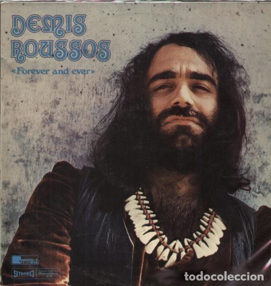 LP DEMIS ROUSSOS – FOREVER AND EVER (Música - Discos de Vinilo - EPs - Pop - Rock Extranjero de los 70)