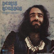 Discos de vinilo: LP DEMIS ROUSSOS – FOREVER AND EVER. Lote 183277902