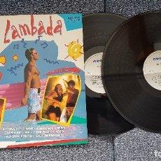 Discos de vinilo: FIESTA LAMBADA - ÉXITOS 1992. ALBUN DOBLE.. Lote 183278093