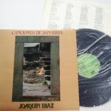 Discos de vinilo: JOAQUIN DIAZ -CANCIONES DE SANABRIA -LP MOVIEPLAY 1980// FOLK CASTILLA LEON - MELLOW FOLK ACID TOUCH. Lote 183280260