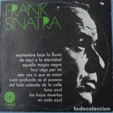 Discos de vinilo: EP FRANK SINATRA - CIRCULO DE LECTORES 10''. Lote 183280395