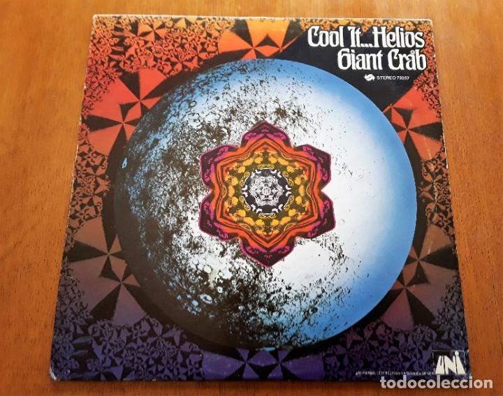GIANT CRAB COOL IT HELIOS (UNI 73057 - USA 1969) PSYCHEDELIC ROCK ORIGINAL LP (Música - Discos - LP Vinilo - Pop - Rock Extranjero de los 50 y 60)
