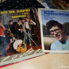 Discos de vinilo: PEPPINO DI CAPRI 2 EPS OFERTA COLECCIONISTAS . Lote 183284671