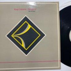 Disques de vinyle: MAXI SINGLE 12'' VINILO KING CRIMSON SLEEPLESS SIN DORMIR EDICIÓN ESPAÑOLA DE 1984. Lote 183284928