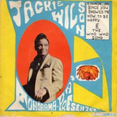 Discos de vinilo: JACKIE WILSON - THE WHO WHO SONG - SINGLE. Lote 183285136