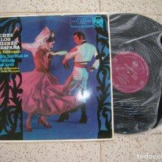 Discos de vinilo: LP NOCHES EN LOS JARDINES DE ESPAÑA ,ORQUESTA SINFONICA DE SAN FRANCISCO. Lote 183289286