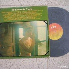 Discos de vinilo: LP 12 TEMAS DE AMOR ,RAY CONNIFF,FLOWERS ORQUESTA , CARAVELLI ,. Lote 183289696