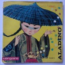 Discos de vinilo: ALADINO. Lote 183290645